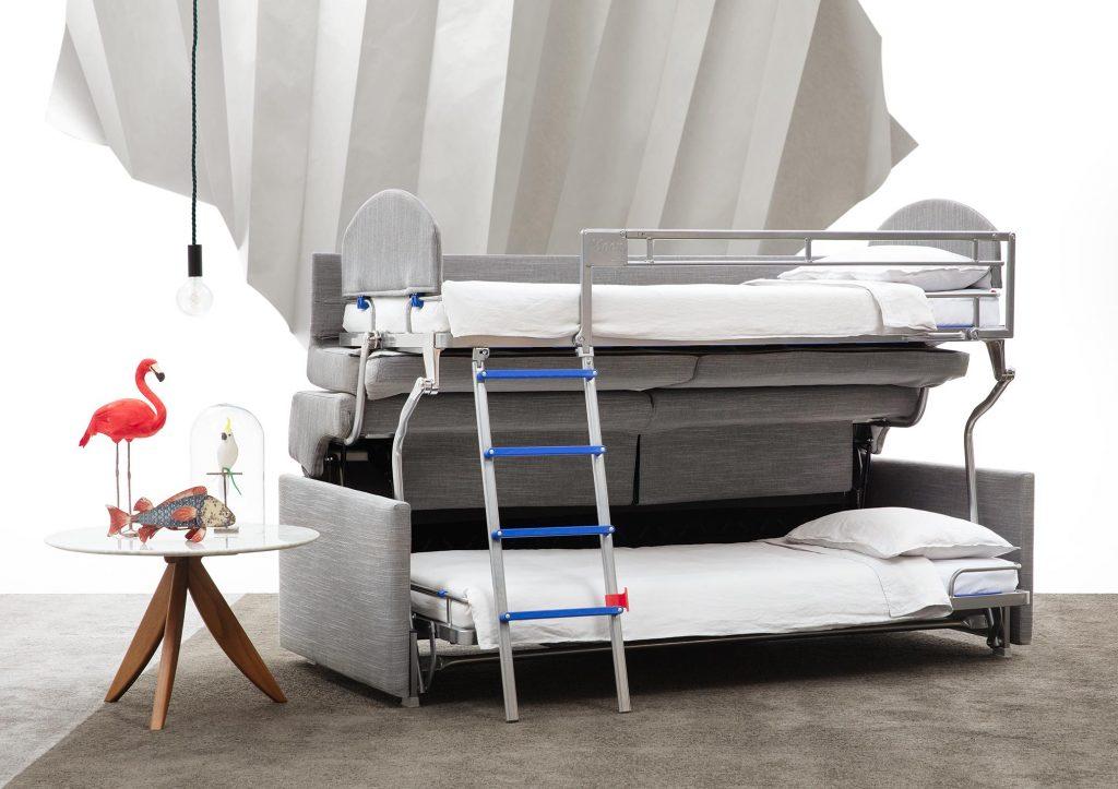 Schlafsofa mit zwei Etagen von Berto Salotti. Warum BertO?