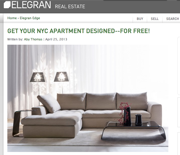 Design-Apart on Elegran NYC