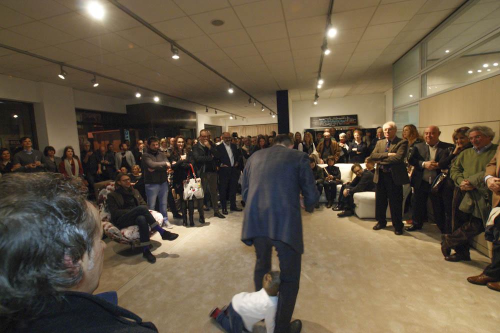 Filippo Rede auf der BertO40-Party