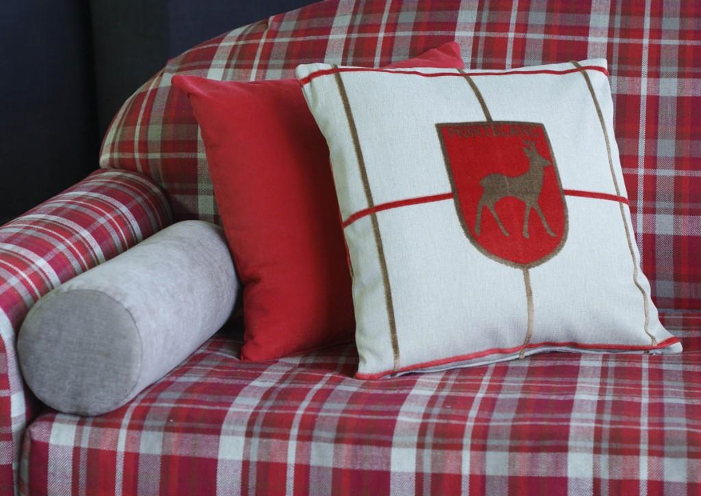 Maßgeschneidertes Schlafsofa für ein Bergheim