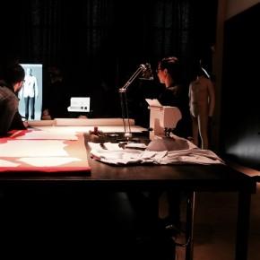 New Craft Mailand tavolo del tappezziere Berto atelier