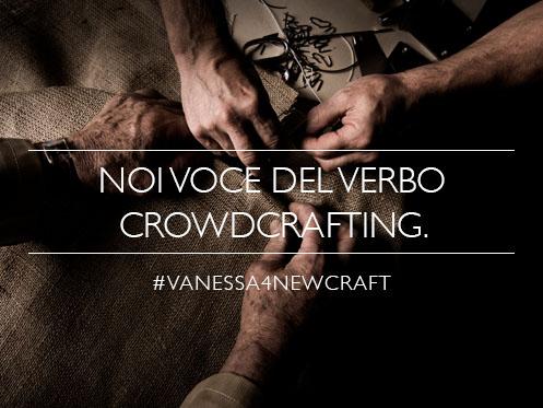 vanessa4newcraft - crowdcrafting aperto al pubblico a Milano