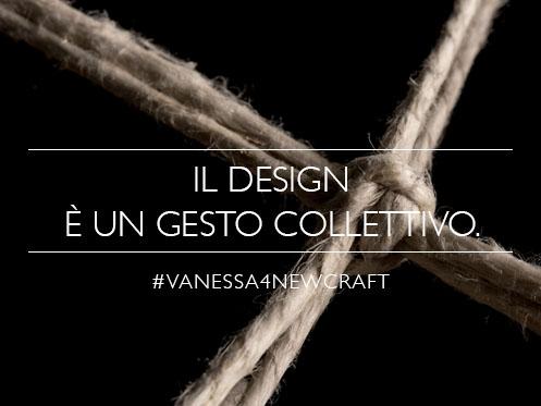 vanessa4newcraft crowdcrafting alla xxi triennale di Milano mostra NEW CRAFT