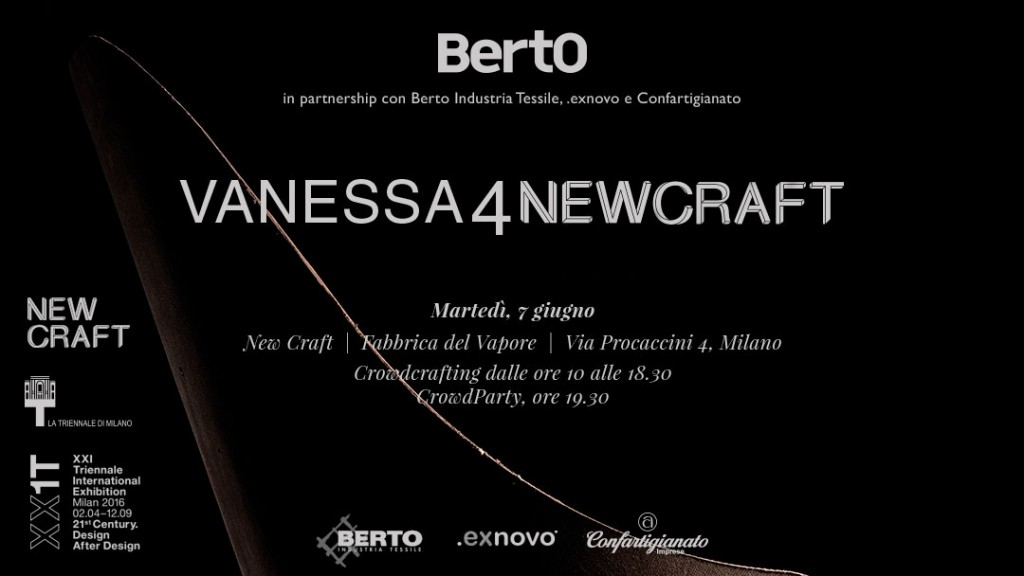 invitación al evento vanessa newcraft