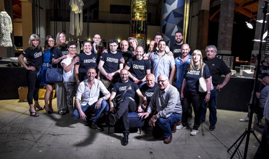 Das BertO-Team auf der New Craft-Triennale in Mailand