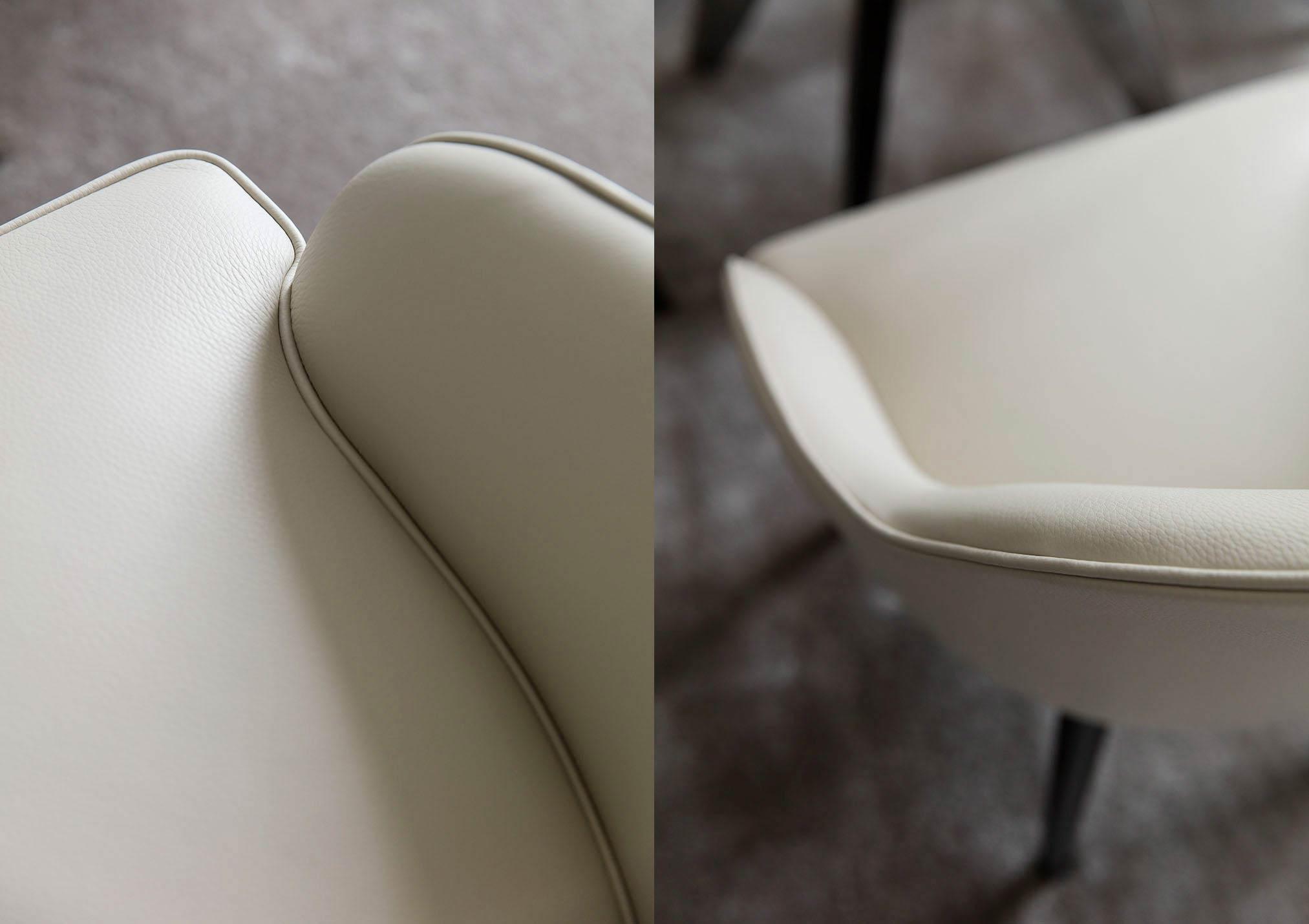 Stuhl Judy aus Leder