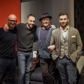 Stefano Manfredi, Filippo Berto, Renato Ruatti e Matteo Martorana bertolive