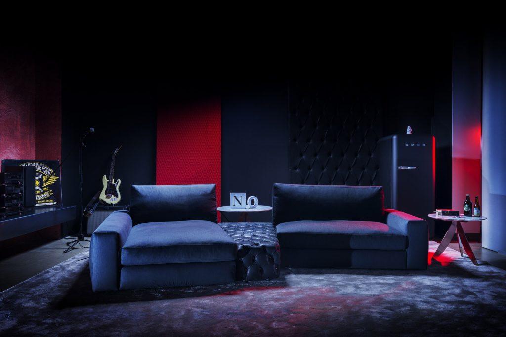 Sofa Joey Bertolive Kollektion - Berto Salotti