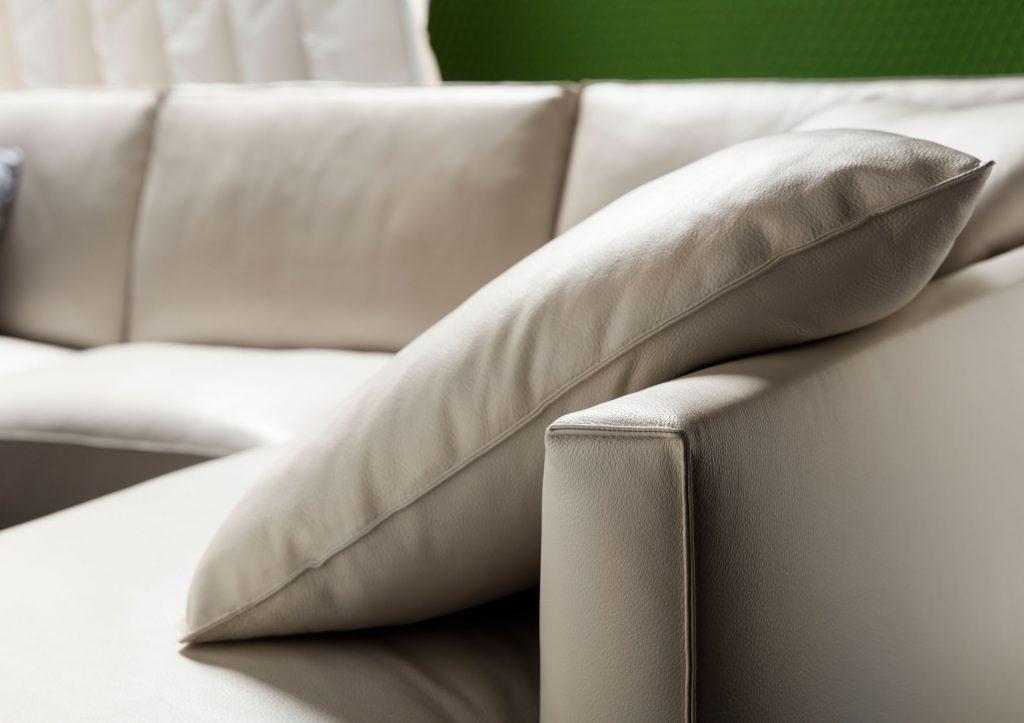 Time Break Leder sofa Berto Salotti italy