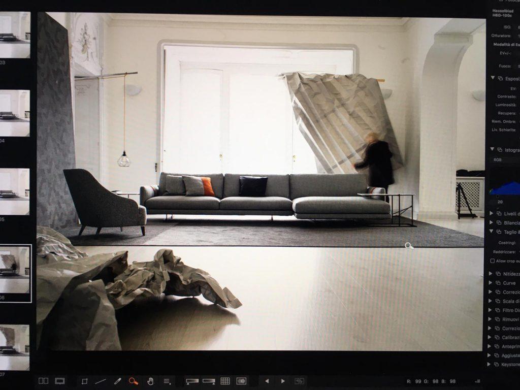 Entdecken Sie das Fotoprojekt für das Dee Dee-Sofa