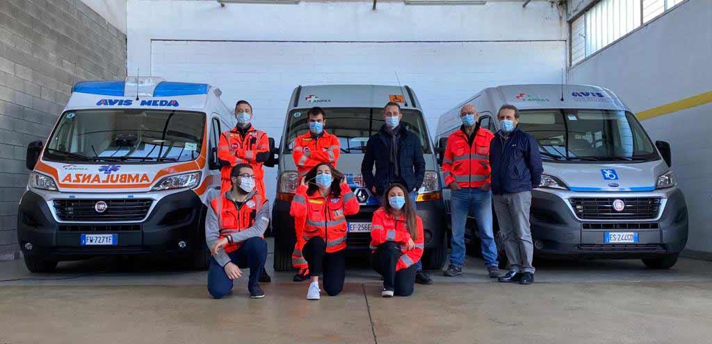Die Freiwilligen von Avis Meda und Filippo Berto
