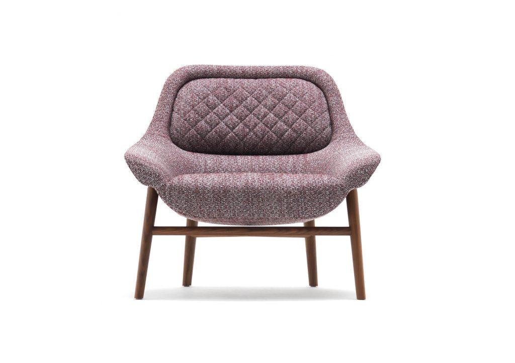 Sessel Hanna by BertO, design Castello Lagravinese Studio realisiert für das MDFF 2020
