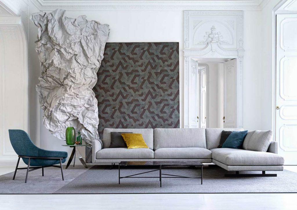 Stoffe für Sofa dee dee – Berto das Traumdesign Made in Meda