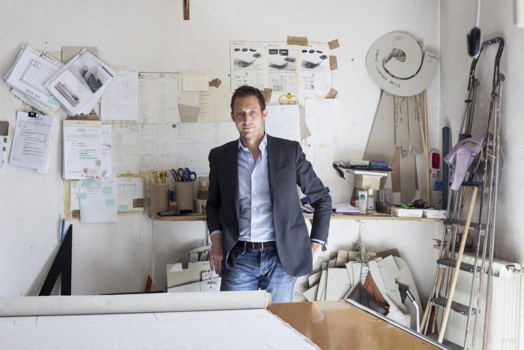Filippo Berto, Autor des BertoStory-Blogs, des ersten Made in Meda-Design-Unternehmensblogs