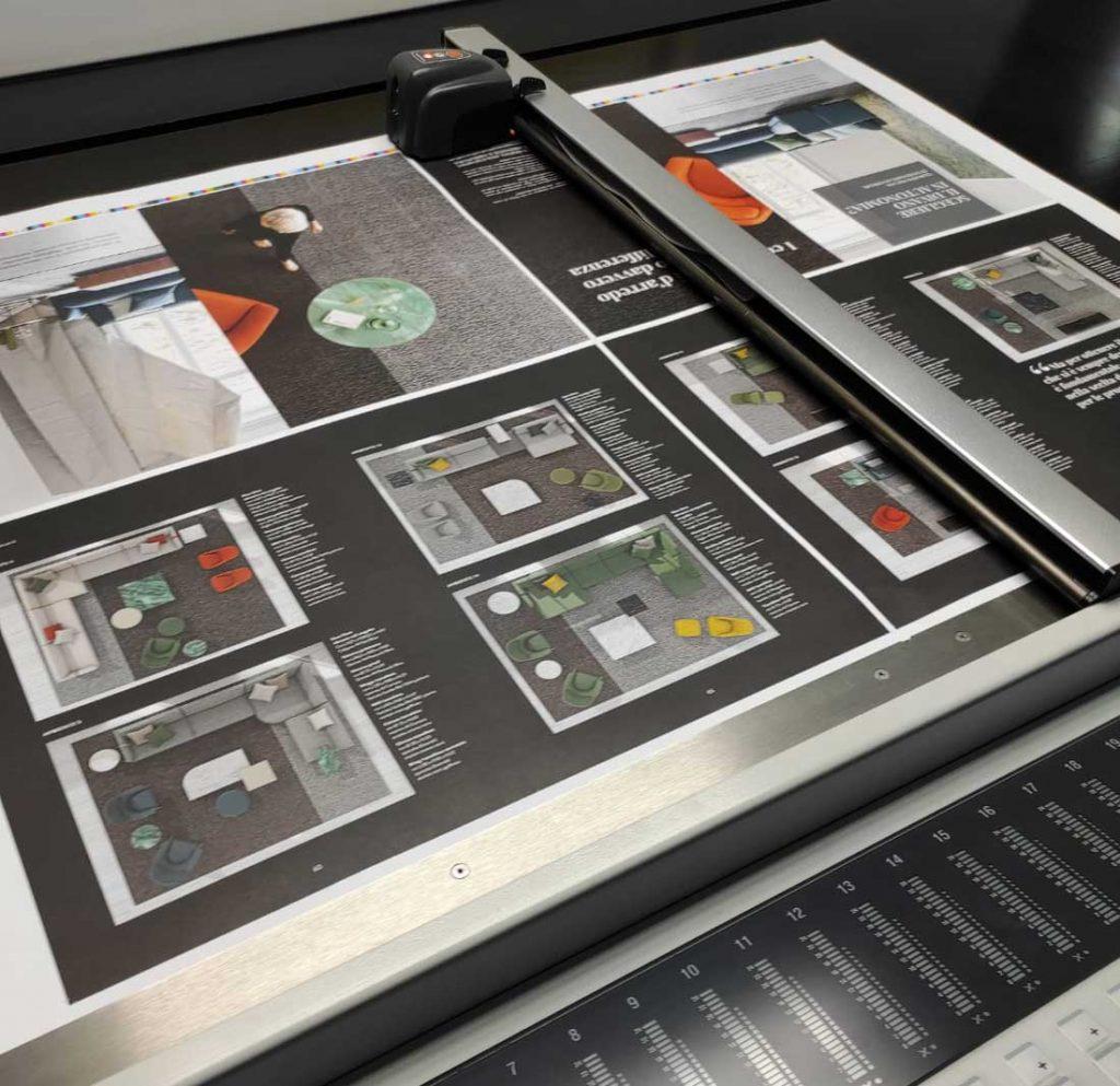 BertoBillboard, das offizielle Magazin von BertO the Dream Design Made in Meda ist im Druck