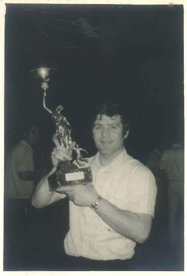Carlo Berto in den 70er Jahren