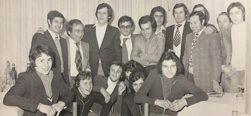 Fioravante und Carlo Berto in Brianza 70er Jahre