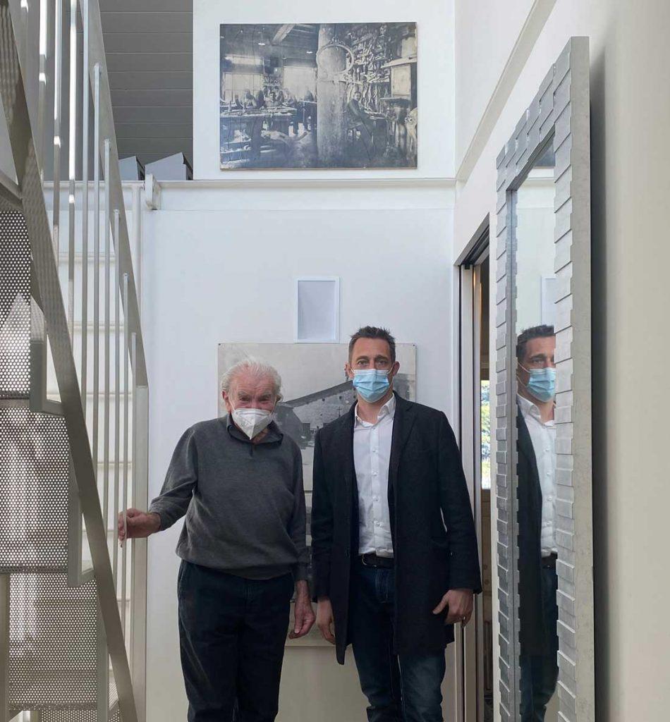 Eugenio Boga und Filippo Berto für das Made in Meda-Projekt