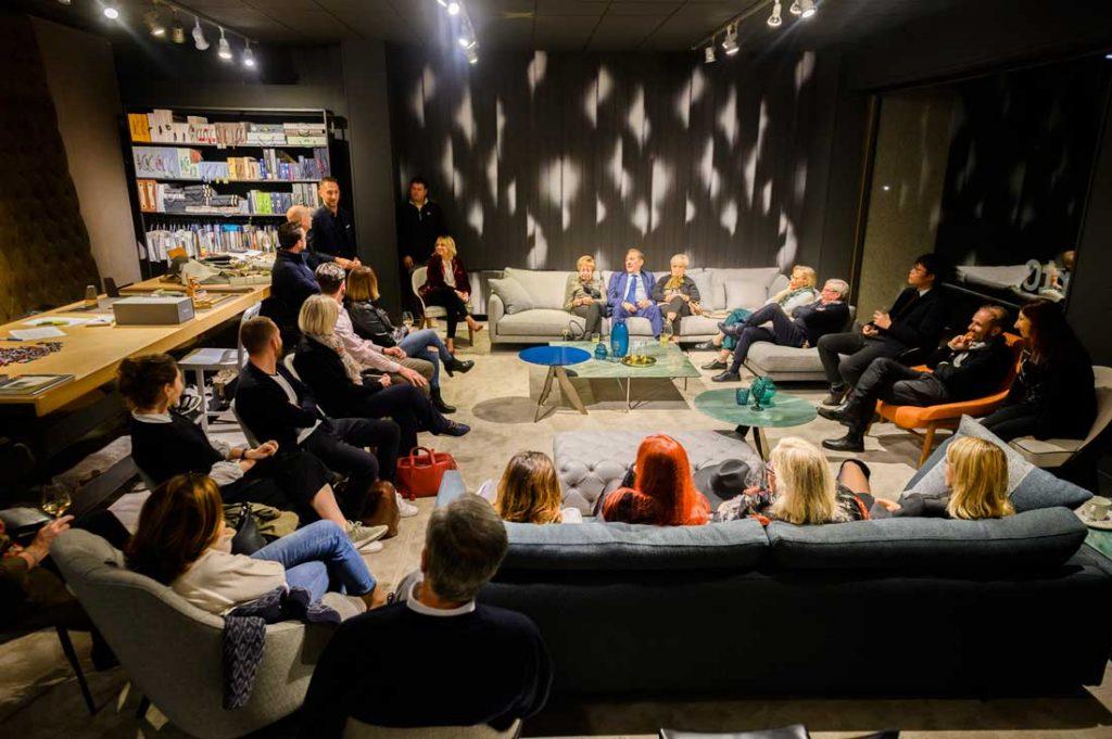 Treffen im Showroom mit Alessandro Lagravinese und Filippo BertO