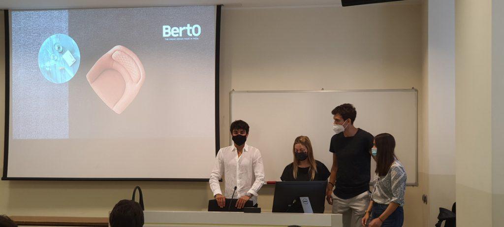 Die Studierenden der Università Cattolica Mailand für den BertO Hackathon